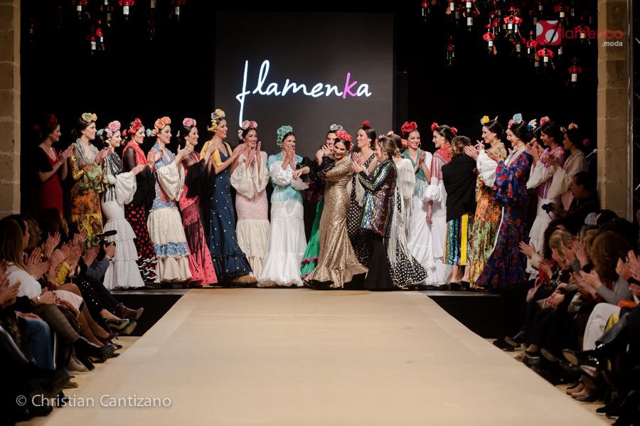 """Flamenka """"Magia Flamenca"""" – Pasarela Flamenca Jerez 2018"""