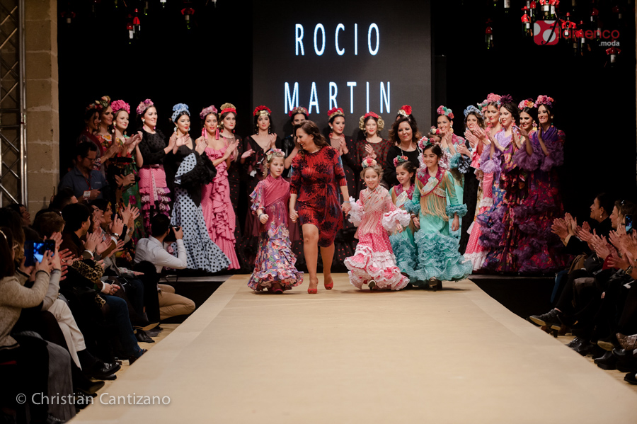 Rocío Martin Degitana - Pasarela Flamenca Jerez 2018