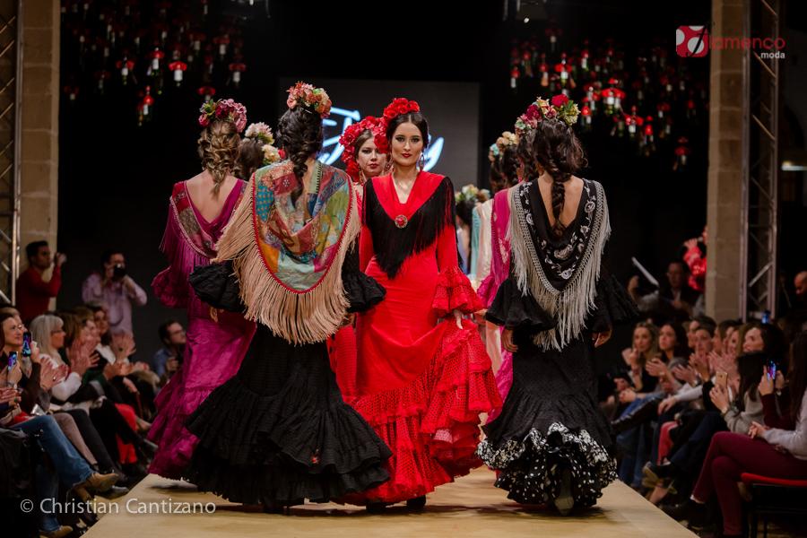 11 años de moda flamenca en la Pasarela Flamenca Jerez -Tío Pepe