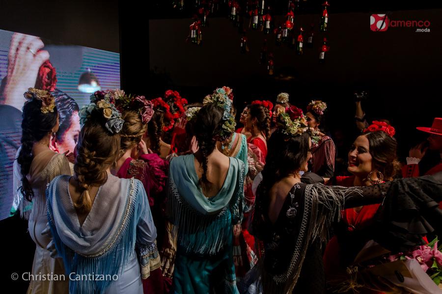 Faly de la Feria al Rocio - Marcarena Beato en Pasarela Flamenca Jerez 2018