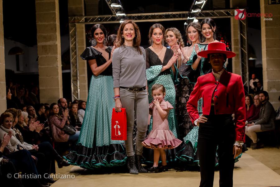 """Inma de Benicio """"El lunar que lleva tu nombre…""""  – Pasarela Flamenca Jerez 2018"""