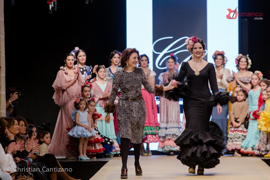 "Chari García ""Pinceladas""  – Pasarela Flamenca Jerez 2018"