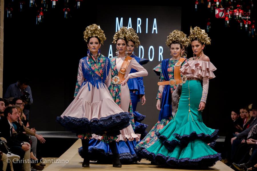 María Amador - Noveles Pasarela Flamenca Jerez 2018