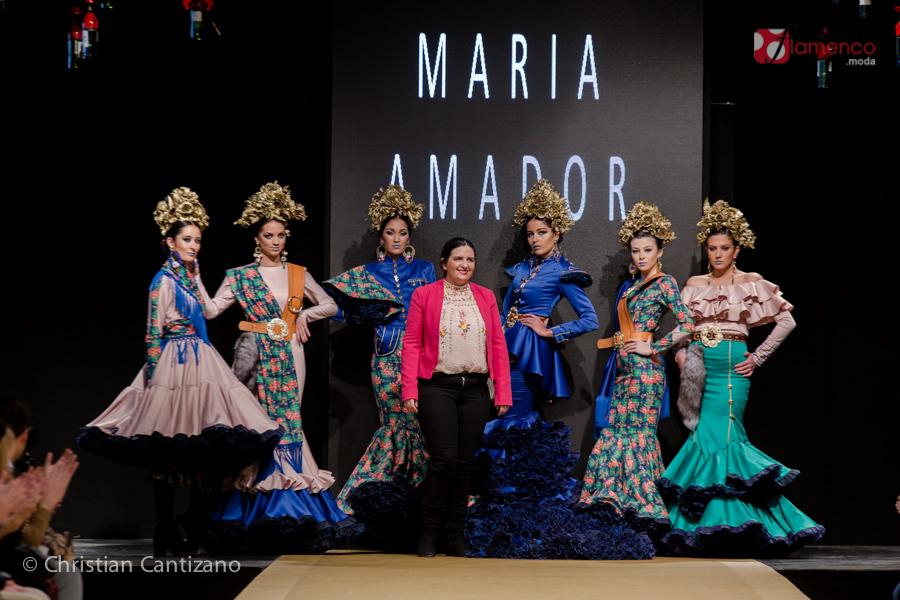 """María Amador """"Clan"""" – Noveles Pasarela Flamenca Jerez 2018"""