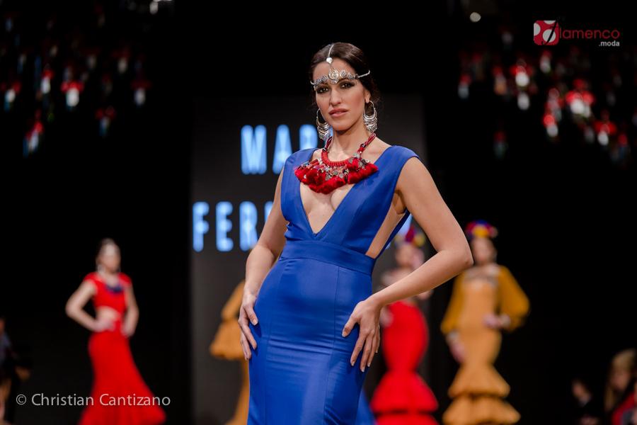 María Fernández - Noveles Pasarela Flamenca Jerez 2018