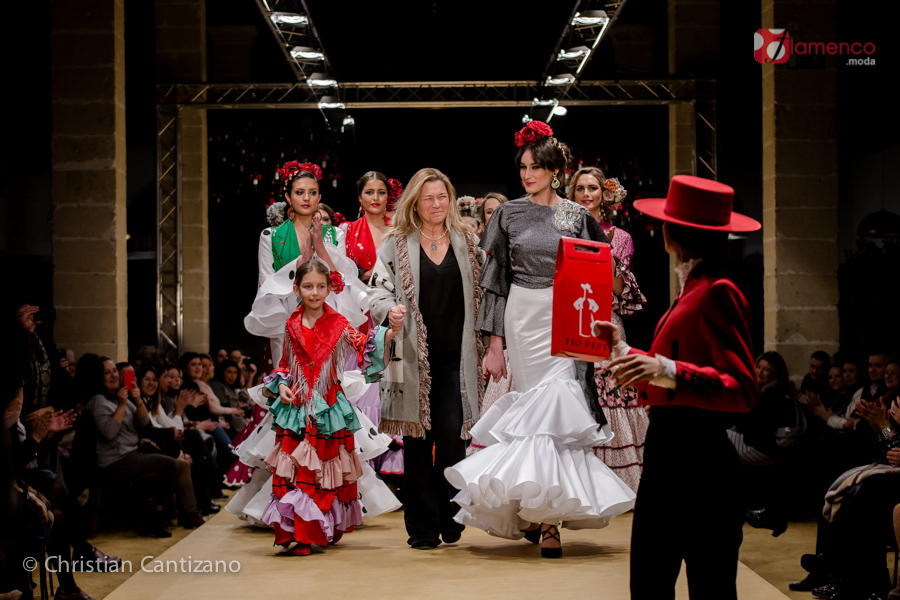 """Mati Solana """"A capa y al hilo"""" – Pasarela Flamenca Jerez 2018"""