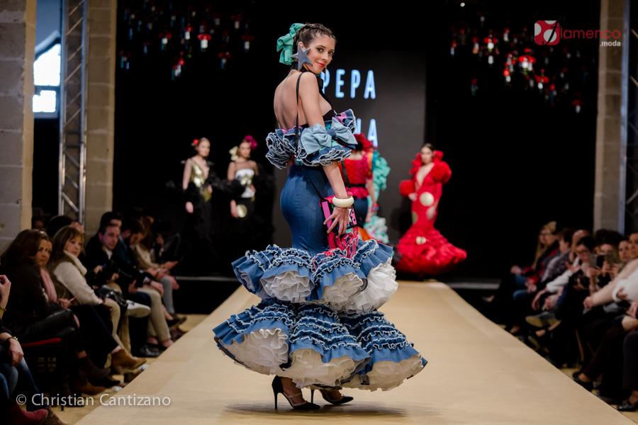 Pepa Mena - Noveles Pasarela Flamenca Jerez 2018