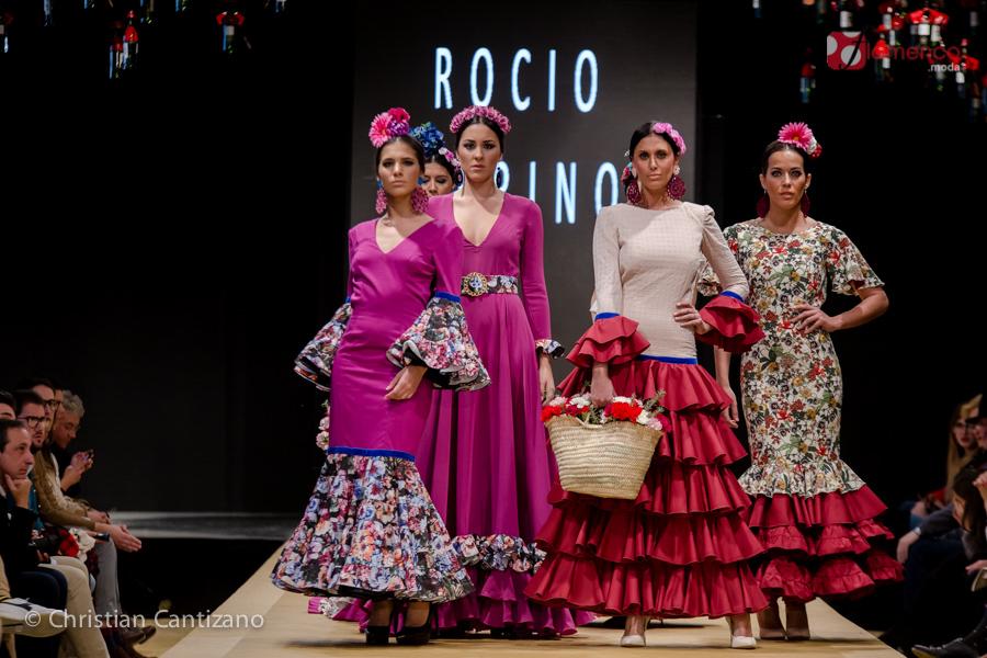 Rocío Merino - Noveles Pasarela Flamenca Jerez 2018