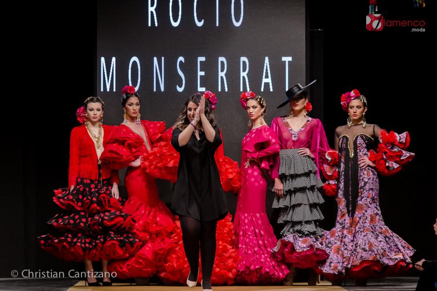 """Rocío Merino """"Jardín de los sentidos"""" – Noveles Pasarela Flamenca Jerez 2018"""
