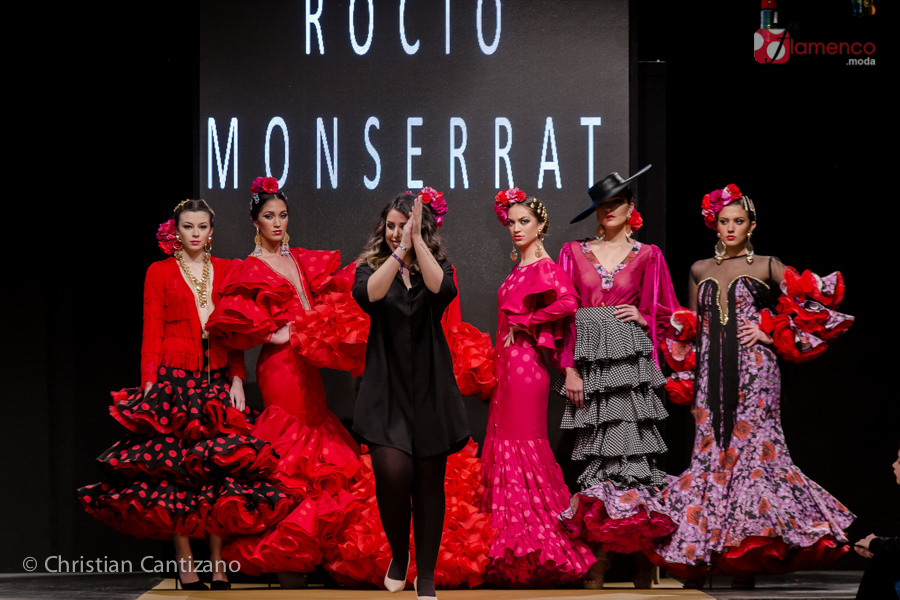 "Rocío Montserrat ""La invitada perfecta"" – Noveles Pasarela Flamenca Jerez 2018"