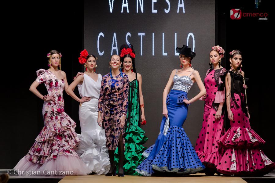 """Vanessa Castillo """"Esencia de abril""""  – Noveles Pasarela Flamenca Jerez 2018"""