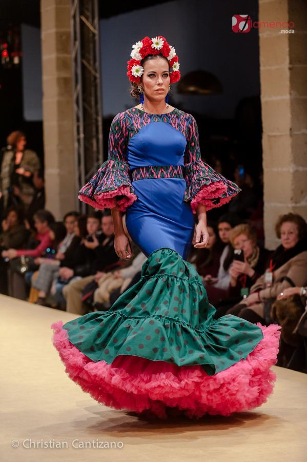 María Ávila - Pasarela Flamenca Jerez 2018