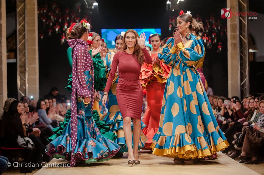 """Miriam Galvín """"Levante"""" – Pasarela Flamenca Jerez 2018"""