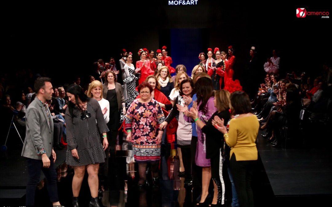 """Mof & Art Asociación – Desfile Colectivo """"Piel Flamenca"""" – Simof 2018"""