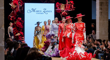 Marco Zapata Costura 'MULIER' Pasarela Flamenca Jerez 2019