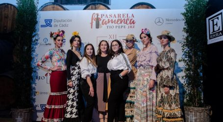 Rocío Lama 'AL COMPÁS DE LAS AGUJAS' Pasarela Flamenca Jerez 2019