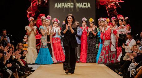 Amparo Maciá 'MARIA LUISA' Pasarela Flamenca Jerez 2019