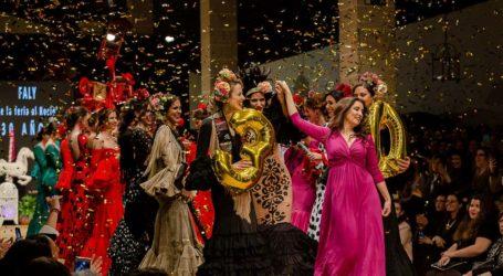 """Faly, """"de la Feria al Rocío"""" '30 AÑOS FALY' Pasarela Flamenca Jerez 2019"""