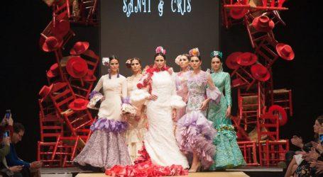 "SANTIAGO ROMERO 'Santi & Cris' – ""Primavera de color"" – Noveles Pasarela Flamenca Jerez 2019"
