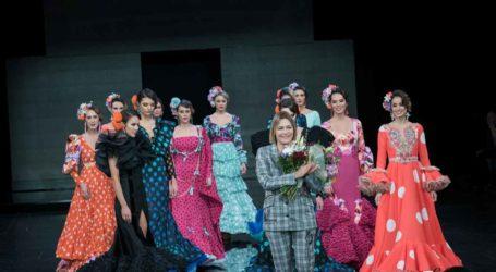 """Ángeles Fernández Moda Flamenca  """"Sunset"""" – Simof 2020"""