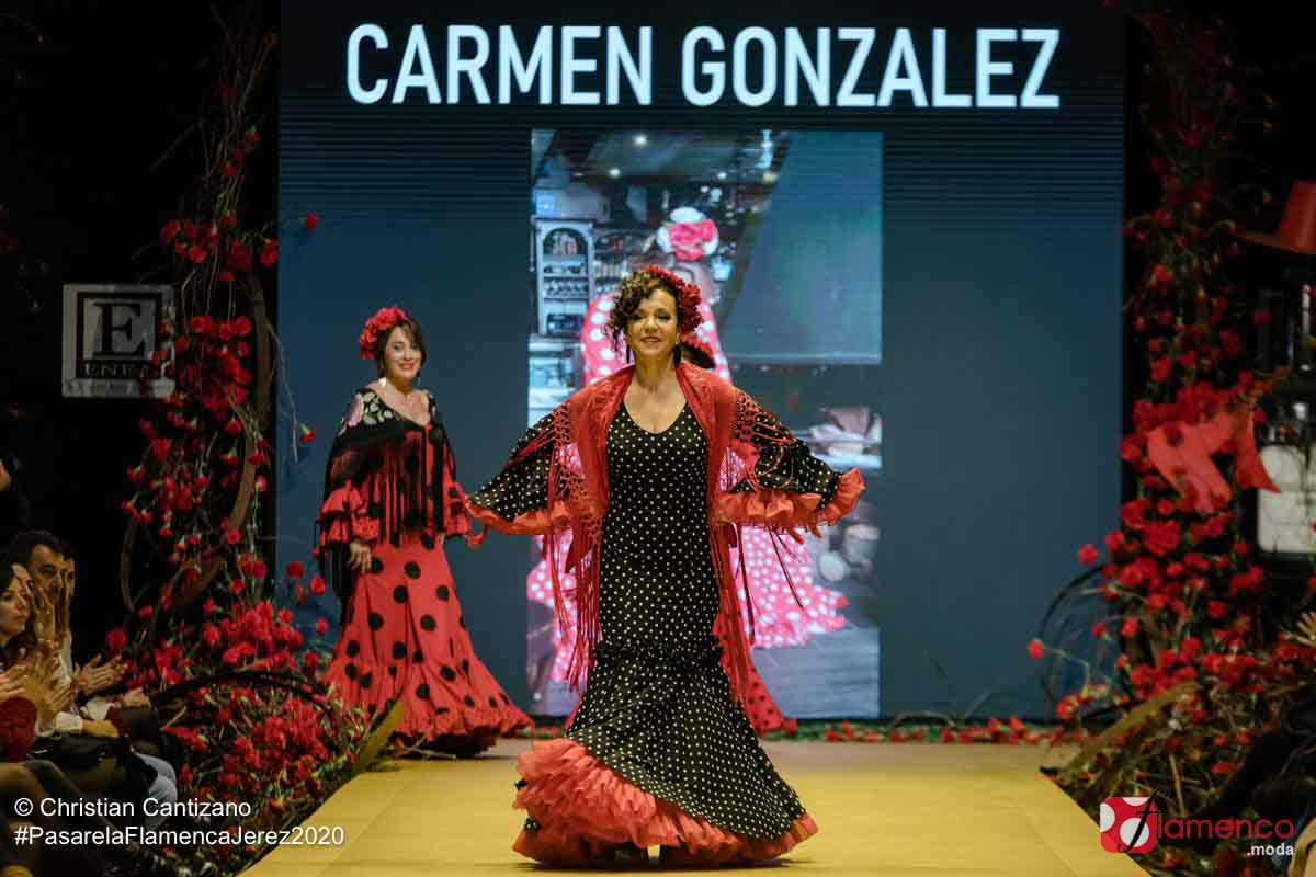Carmen González - Pasarela Flamenca Jerez