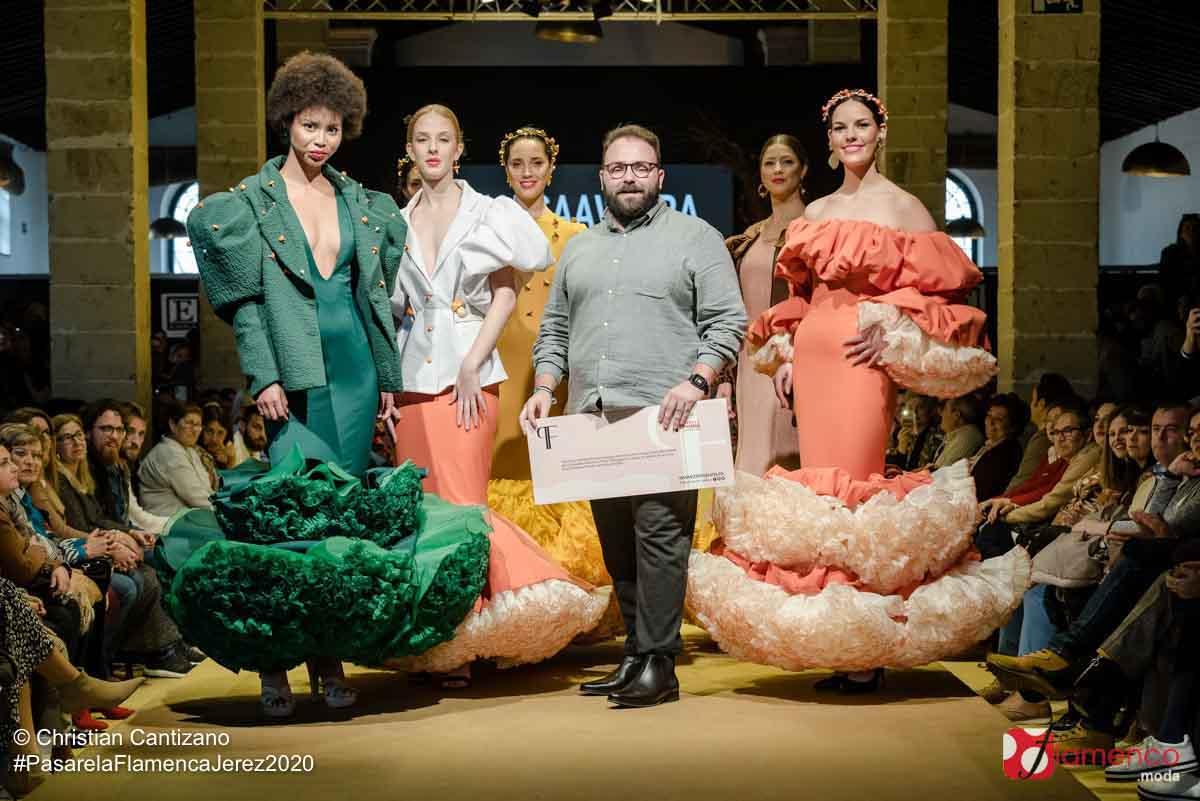 Juan Saavedra - Premio Diseñadores Noveles - Pasarela Flamenco Jerez