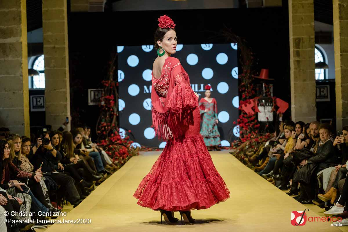 Micaela Villa - Pasarela Flamenca Jerez 2020