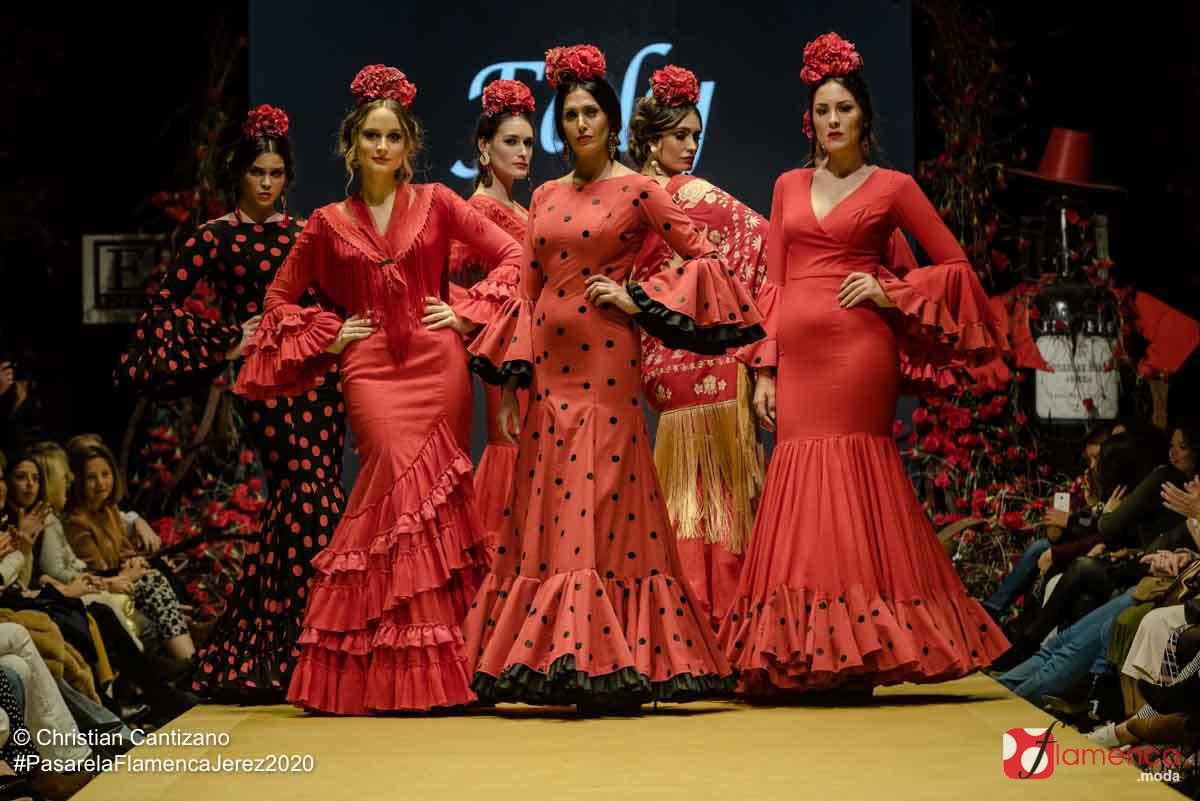 Faly 'de la Feria al Rocío' - Pasarela Flamenca Jerez 2020